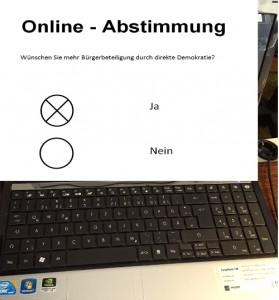 Online Abstimmung